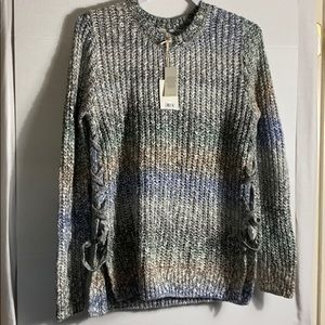 NWT: LUCKY BRAND CABLE KNIT PULLOVER